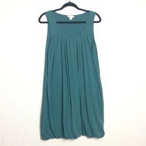 Garnet Hill bubble hem jersey knit dress